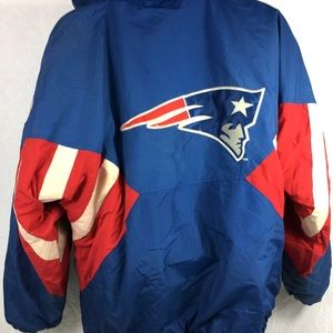 finest selection 6f81f f17e8 Vintage STARTER NFL New England Patriots Puffer